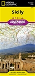 Sicily National Geographic Adventure Map