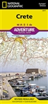 Crete National Geographic Adventure Map