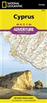 National Geographics Cyprus Adventure Map is designed to meet the unique needs of adventure travelers with its durability and accurate information. This folded map provides global travelers with the perfect combination of detail and perspective, highlight