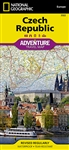 Czech Republic National Geographic Adventure Map