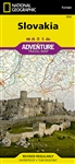 Slovakia National Geographic Adventure Map