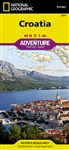Croatia National Geographic Adventure Map