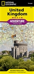 United Kingdom National Geographic Adventure Map