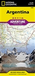 Argentina National Geographic Adventure Map