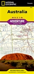 National Geographic's Australia Adventure Map is designed to meet the unique needs of adventure travelers with its durability and accurate information. This folded map provides global travelers with the perfect combination of detail and perspective, highl