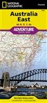 Australia East National Geographic Adventure Map