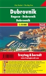Dubrovnik City Pocket Map & Guide. This is a great pocket sized, folded map of the city of Dubrovnik. The city plan is on one side. On the opposite side are 5 main attractions for 5 different categories: shopping, culinary, culture, nightlife, and sights.