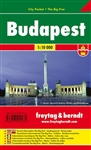 Budapest - Hungary City Pocket Map. The City Pocket maps are handy pocket sized maps. They show each city and an inset of the metro. On the back there is a street index as well as a legend showing shopping, culinary, culture, nightlife and sights. The leg