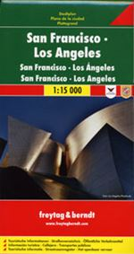 San Francisco & LA Travel & Road Map. Very detailed two-sided map, one side has Los Angeles and the other is San Francisco. Includes tourist information, street index. Freytag & Berndt road maps are available for many countries and regions worldwide. In a