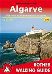 Algarve Rother Walking Guide. The 22 coastal walks in this guide follow safe paths along the whole of the southern coastline of the Algarve. From the south-western corner of Europe and the distant Sagres they go in easy stages past the spectacular cliffs