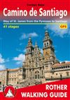 Camino de Santiago - Rother Walking Guide. With over 1000 years of history, the Way of St. James is one of the classic long distance walks. This historical route along almost 1000 kilometres from the Pyrenees to Santiago de Compostela offers unique cultur