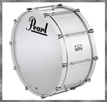 Pearl Pipe Band Maple Bass 28x12""