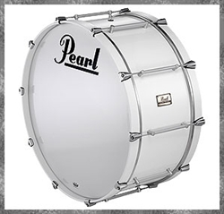 Pearl Pipe Band Maple Bass 30x16""