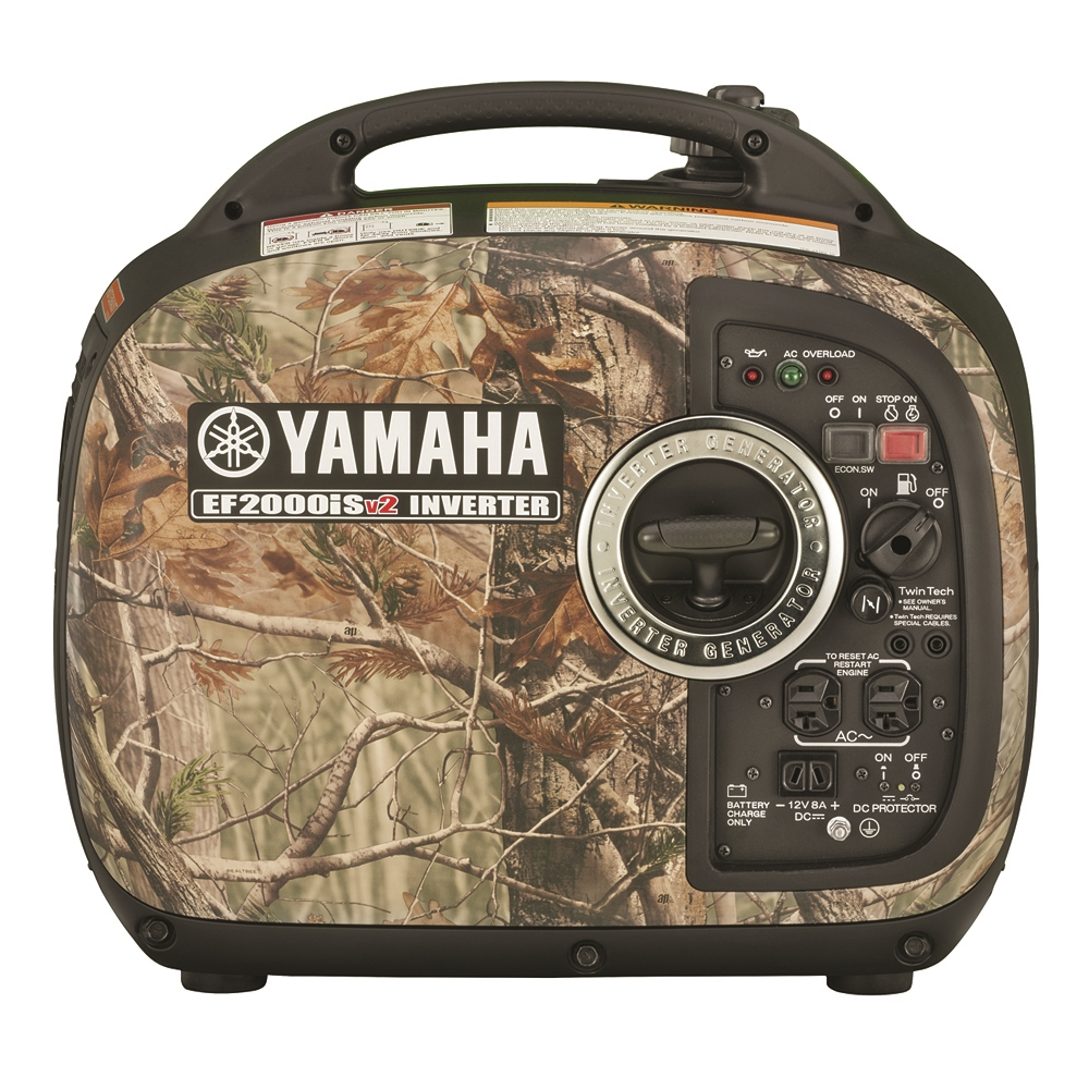 Yamaha EF2000iSCHv2-CAMO 2000 Watt Inverter Generator