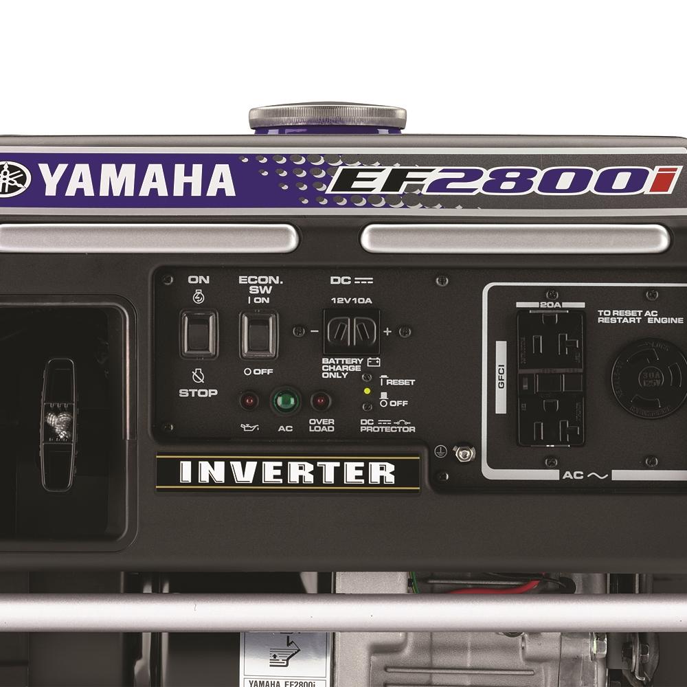 EF2800i   Yamaha Generators   yamahagenerators com
