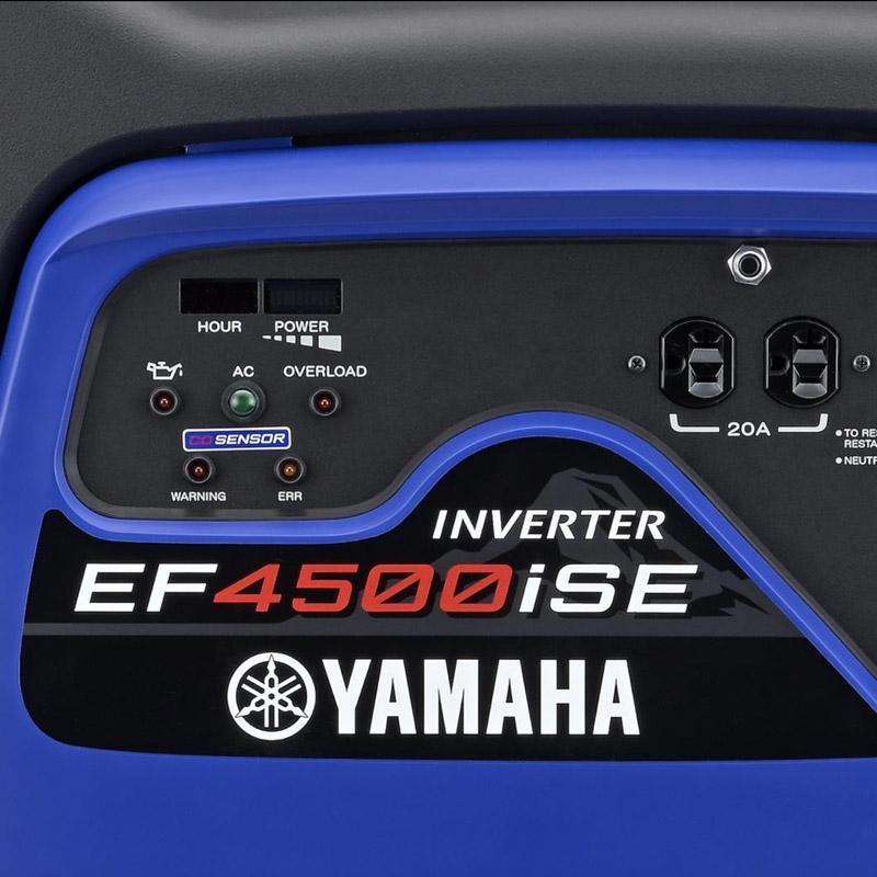 Yamaha EF4500iSE | yamahagenerators com