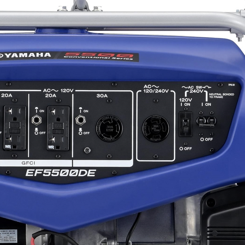 EF5500DE | Yamaha Generators | yamahagenerators com
