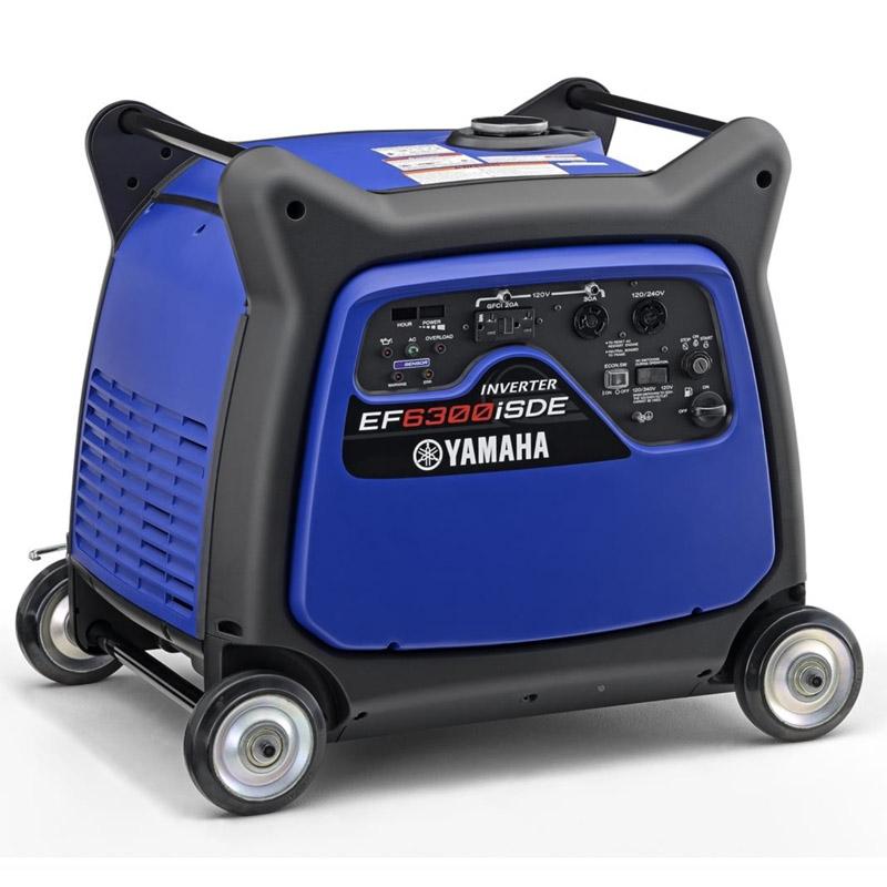 Yamaha EF6300iSDE Generator at YamahaGenerators com