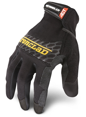 Ironclad Box Handler Grip Glove BHG $15.99 US. Eligible for free shipping Small, Medium, Large, XLarge, 2XLarge, silicone fused palm provides the ultimate grip for box handlers, shipping, and package handling. BHG-02-S,BHG-03-M,BHG-04-L,BHG-05-XL,BHG-06-X
