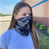 Gray Camo Neck Gaiter