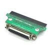 50pin IDC female to SCSI-1 DB25 Adapter