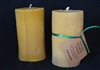 handmade pillar beeswax candles