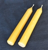natural beeswax candle sticks