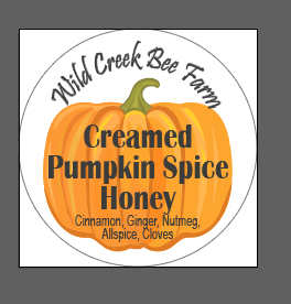 Pumpkin Spice Creamed Honey (1 Lb)