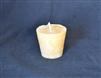 natural beeswax votive candle
