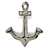 Anchor Hook in Distressed White Finish