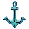 Anchor Hook in Distressed Blue Finish