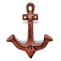 Anchor Hook in Distressed Pink Finish