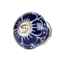 Ceramic knob (Dark blue)