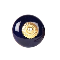 Solid colored ceramic knob