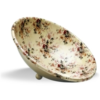 Enamel Metal Serve Bowl