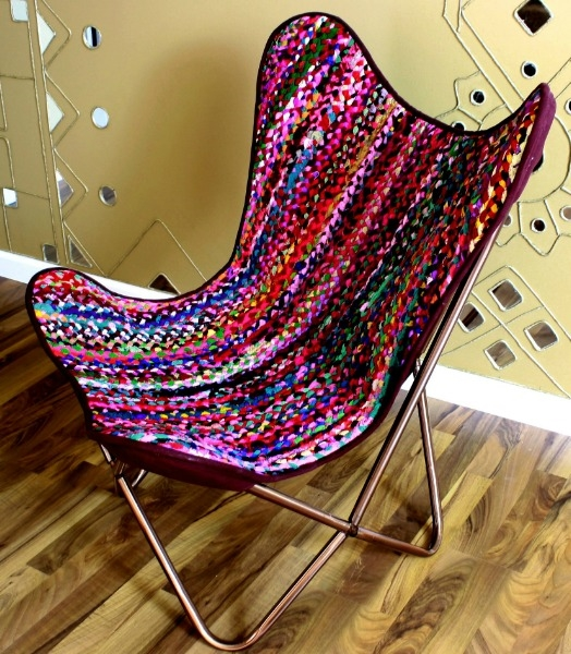 Chindi Butterfly Chair