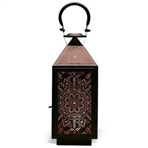 Decorative Table Top Metal Lantern