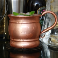 The Vintage Pure Copper Mug with Shiny Finish