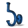 Iron Wall Hook Distressed Blue Finish