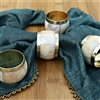 Set of Four Mother of Pearl Napkin Rings
