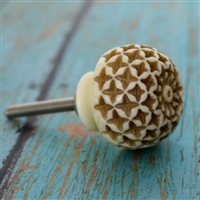 Solid Carved Resin Knob