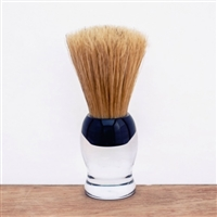 Natural Bristle Shaving Brush - Clear