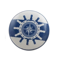 This nautical theme cabinet knob is ideal for the kid who inspires to be a sailor one day.