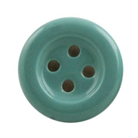 Sea Green Ceramic Button Cabinet Knob