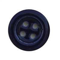 Purple Ceramic Button Cabinet Knob