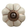 Cream Green Ceramic Cabinet Knob