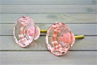 Pink Diamond Glass Knob
