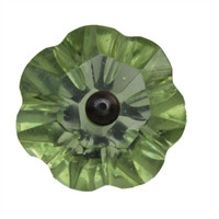 Apple Green Glass Knob