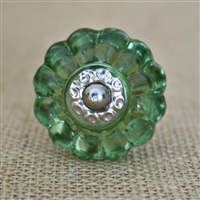Bottle Glass Melon Glass Cabinet Knob