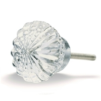 Clear Glass Cabinet Knob